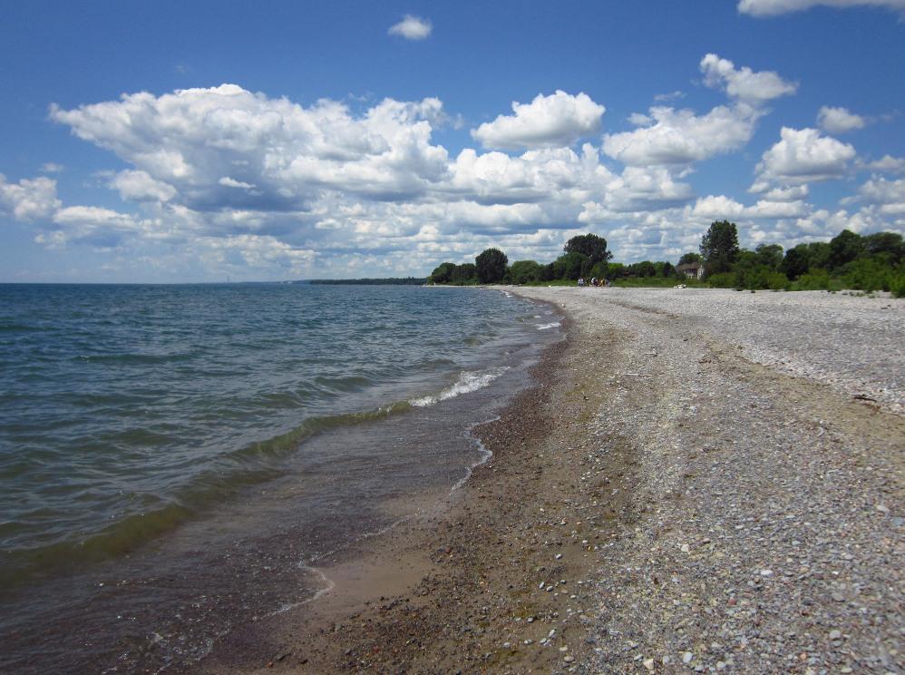 Mit dem Rad zum Lake Ontario